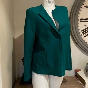 Marc Cain wool  jacket green from andrews Large